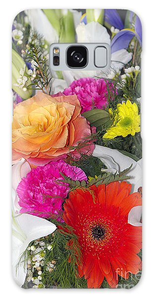 Floral Bouquet Galaxy Case