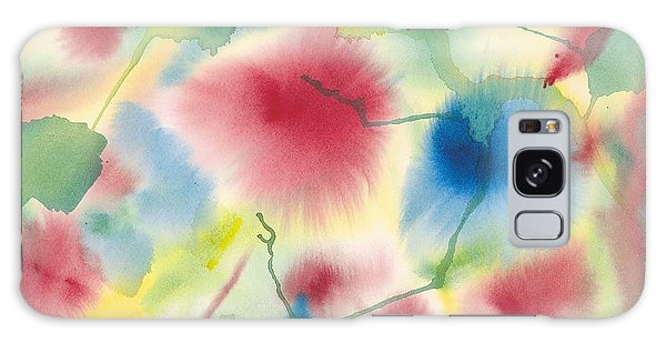 Floral Burst Galaxy Case