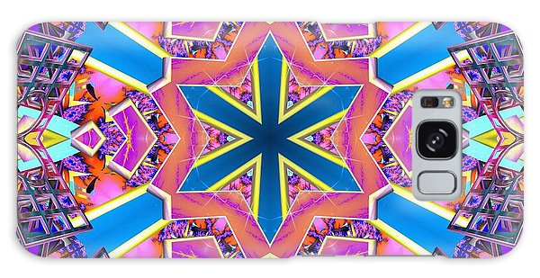 Galaxy Case featuring the digital art Floral Dreamscape by Derek Gedney