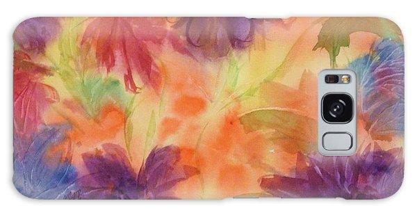 Floral Fantasy Galaxy Case by Ellen Levinson