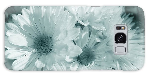 Floral Serendipity Galaxy Case by Cathy  Beharriell