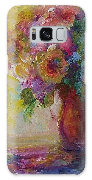 Floral Still Life Galaxy Case by Mary Wolf