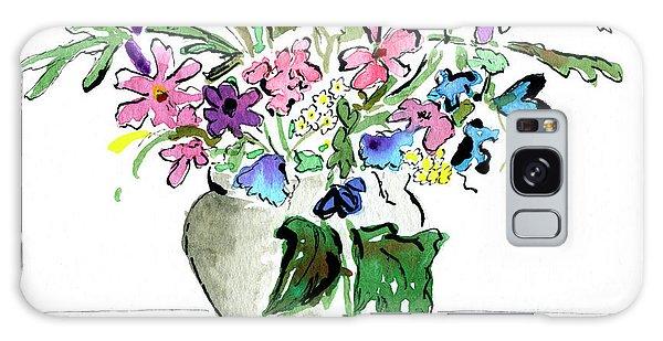 Floral Vase Galaxy Case