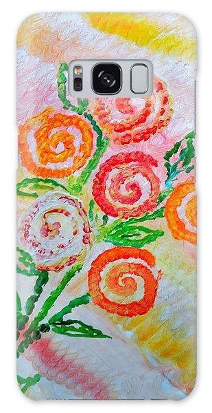 Floralen Traum Galaxy Case by Sonali Gangane