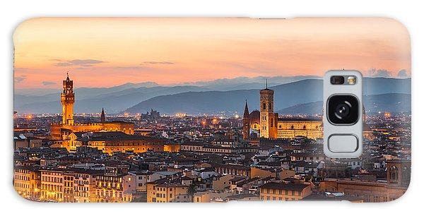 Florence At Dusk Galaxy Case