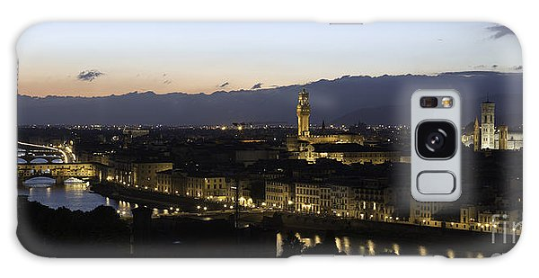 Florence At Night Galaxy Case by Alex Dudley