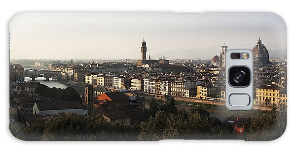 Florence Form The Piazza Michalengelo Galaxy Case by Belinda Greb