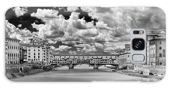 Galaxy Case featuring the photograph Florence Old Bridge by Mirko Chessari