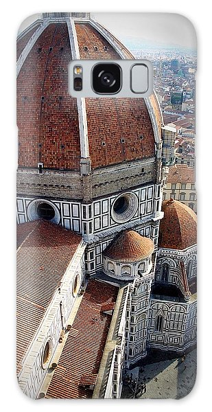 Florence Tile Roof Church Galaxy Case