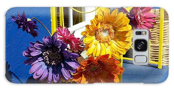 Flores Colores Galaxy Case