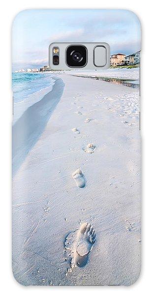 Florida Beach Scene Galaxy Case