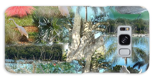 Florida Birds And Trees Galaxy Case