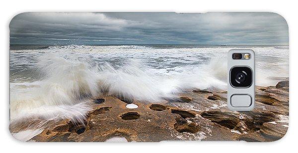 Flagler Galaxy Case - Florida East Coast Beach St. Augustine Fl Landscape by Dave Allen