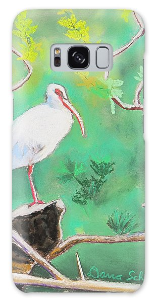 Florida Ibis On Central Fl Waterway Galaxy Case