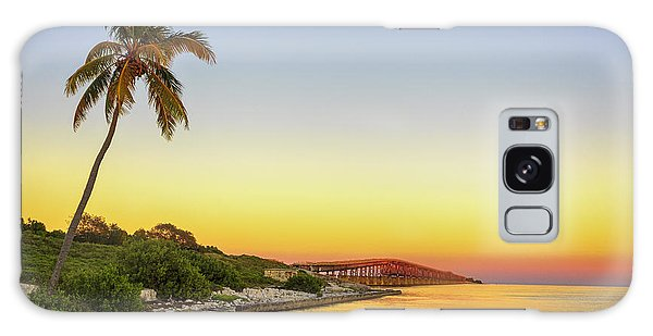 Florida Keys Sunset Galaxy Case by Swank Photography
