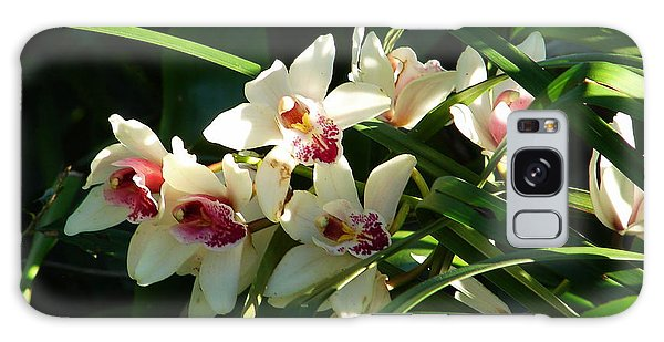 Florida Orchids Galaxy Case