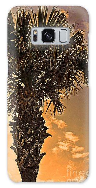 Florida Palm Galaxy Case