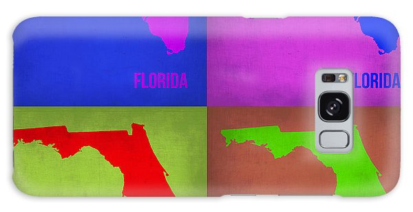 Florida Galaxy Case - Florida Pop Art Map 1 by Naxart Studio