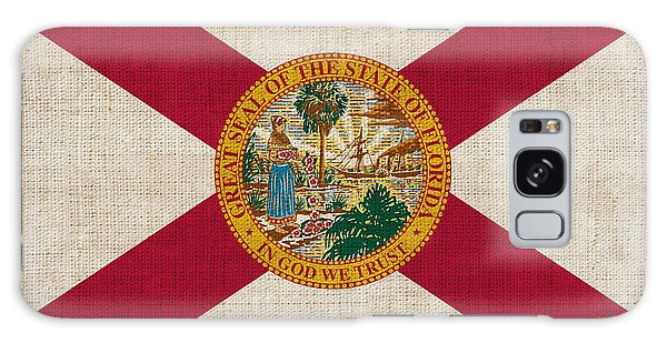 Florida State Flag Galaxy Case by Pixel Chimp