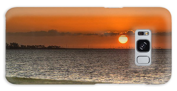 Florida Sunrise Galaxy Case by Jane Luxton