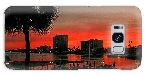 Florida Sunset Galaxy Case by Hanny Heim