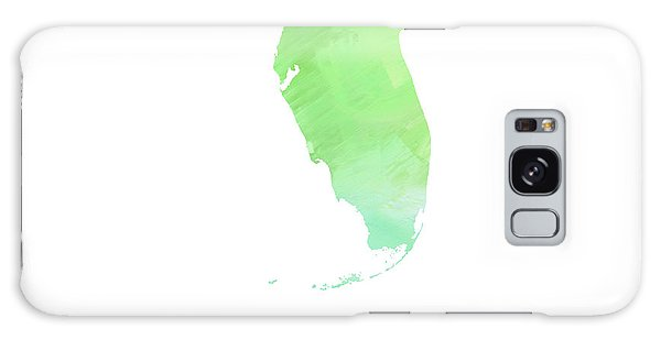 Florida - Sunshine State - Map - State Phrase - Geology Galaxy Case