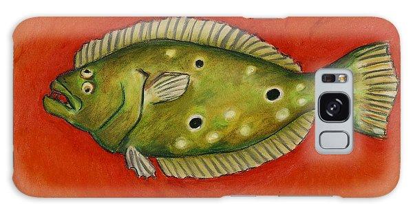 Flounder Galaxy Case