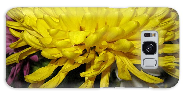 Yellow Queen. Beautiful Flowers Collection For Home Galaxy Case
