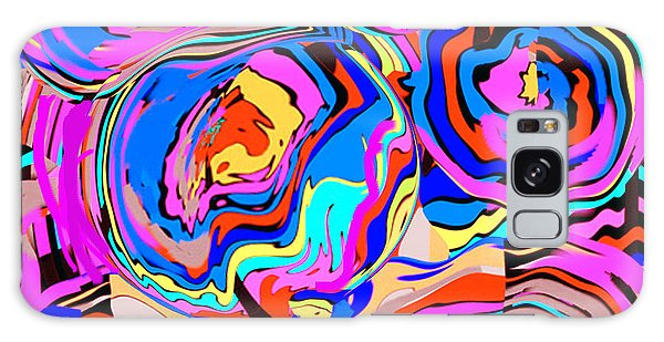 Abstract Art Painting #2 Galaxy Case
