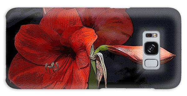 Flower Art02 Galaxy Case