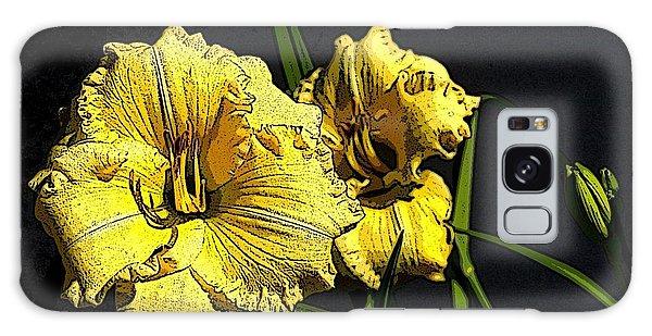 Flower Art03 Galaxy Case