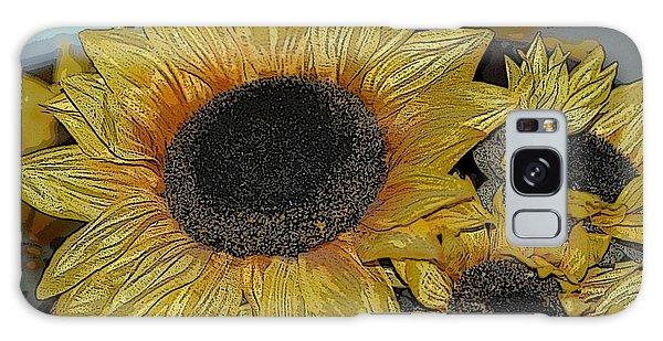 Flower Art04 Galaxy Case