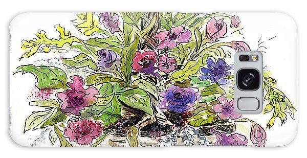 Flower Basket I Galaxy Case