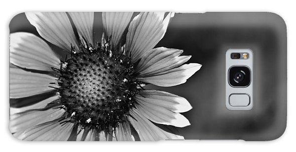 Flower Black And White #1 Galaxy Case