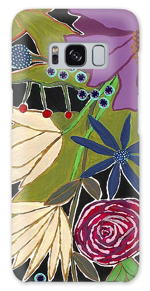 Flower Bouquet Galaxy Case by Lisa Noneman