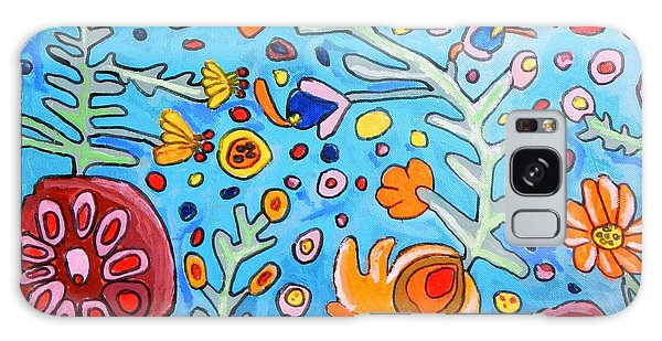 Flower Dream Galaxy Case by Artists With Autism Inc