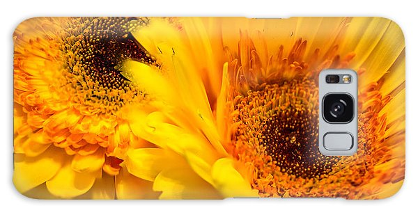 Galaxy Case featuring the photograph Flower Eyes by Steven Santamour