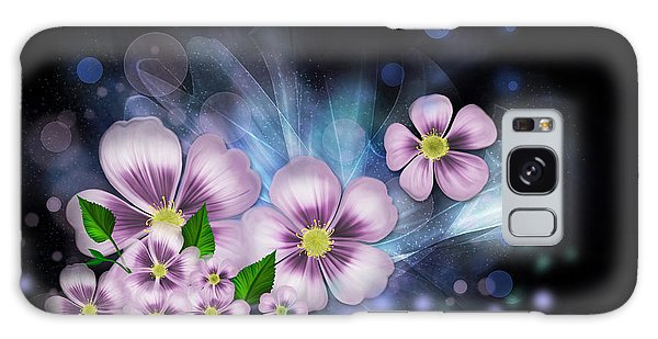 Flower Fantasy Galaxy Case