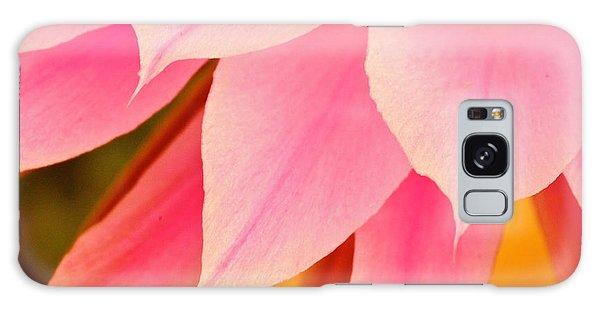 Flower Feathers Galaxy Case by Michael Cinnamond