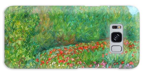 Flower Field Galaxy Case