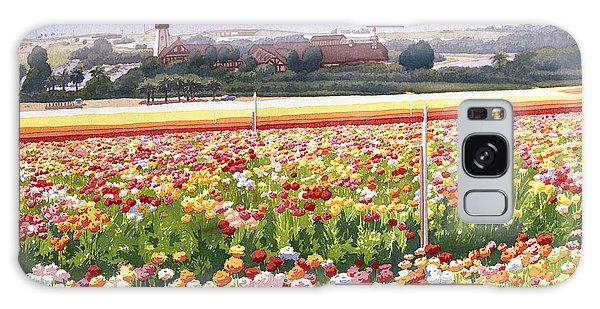 Flower Fields In Carlsbad 1992 Galaxy Case