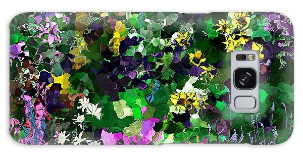 Flower Garden Galaxy Case by David Lane