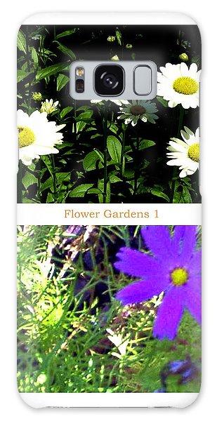 Flower Gardens A Galaxy Case