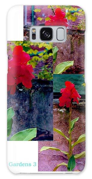 Flower Gardens C Galaxy Case