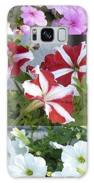 Flower Gardens Montage Galaxy Case
