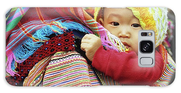 Flower Hmong Baby 04 Galaxy Case