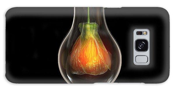 Flower In Bulb Galaxy Case