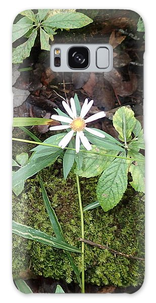 Flower In The Woods Galaxy Case