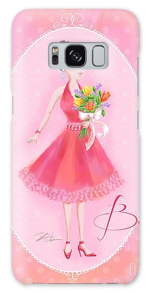 Flower Ladies-belle Galaxy Case