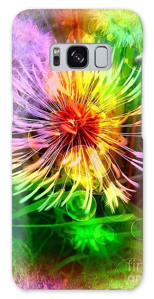 Flower Light Galaxy Case by Nico Bielow
